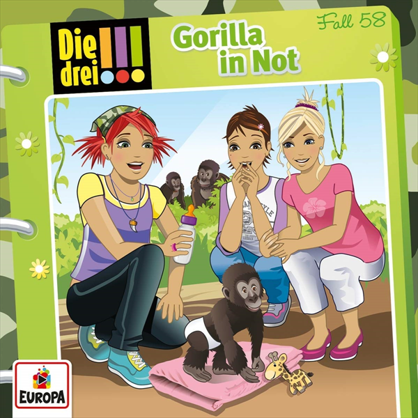 Gorilla in Not